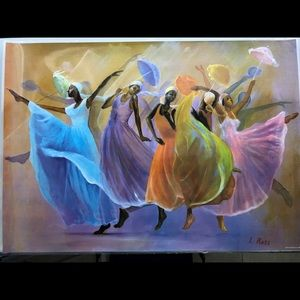 Other - African Dancing Women Print Poster